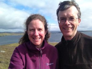 Rich & Jen on the Shetlands, August 2015