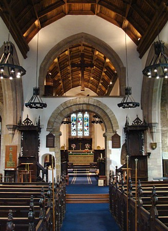 Interior of St. Andrew's, Haughton-le-Skerne