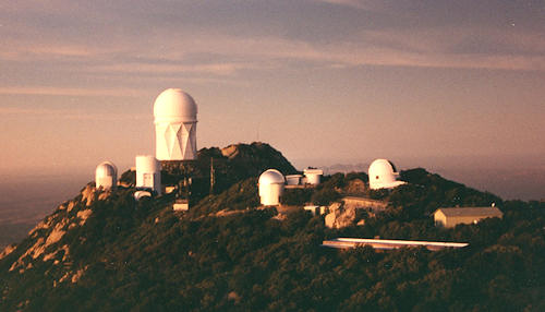 Kitt Peak National Observatory - the telescope I used most is the one in the open dome.