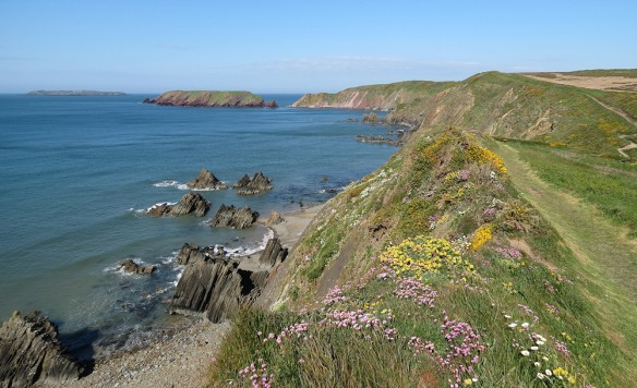 Pembrokeshire coast near Marloes