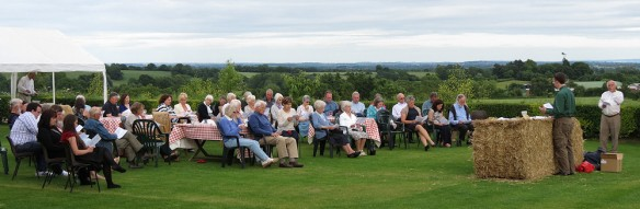First communion - at Noak Farm above Martley