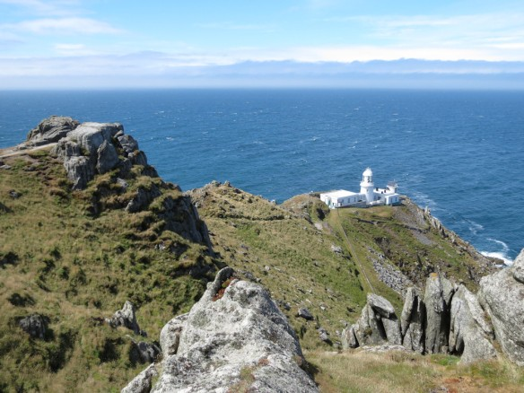 Lundy - the lighthouse at the north end