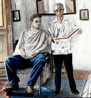 'Barber shop' by Lowgan