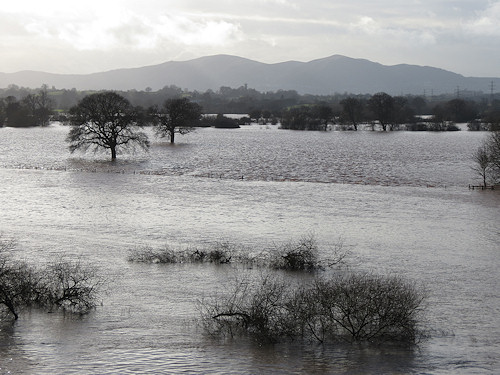 The Severn floods and the Malverns