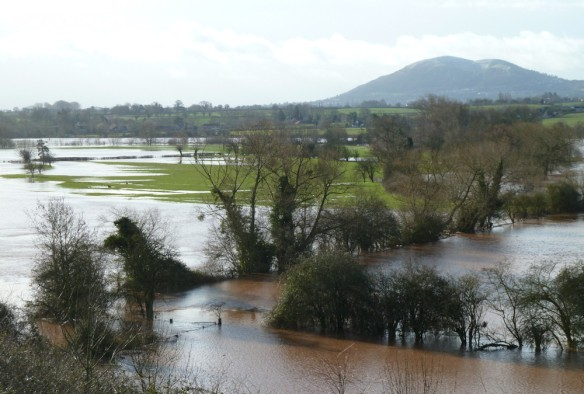 Flooding in the Teme valley