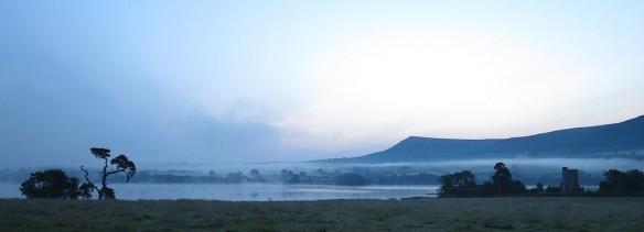 Llangorse lake, pre-dawn