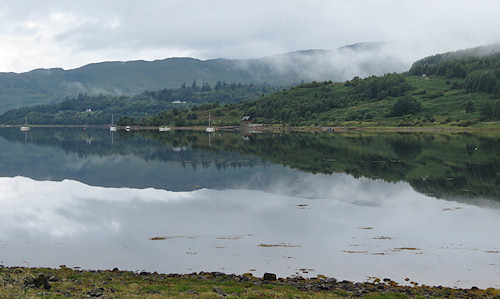 Cloudy morning at Loch Sunart