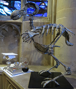 The dodo and the communion set: so which is interpreting the other?