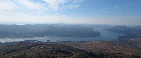Loch Sunart from Beinn Resipol