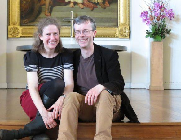 Jen & Rich at All Souls Langham Place