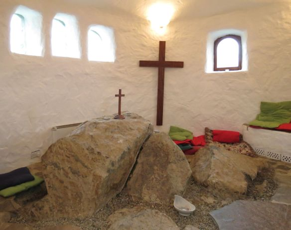 The chapel at Ffald-y-Brenin