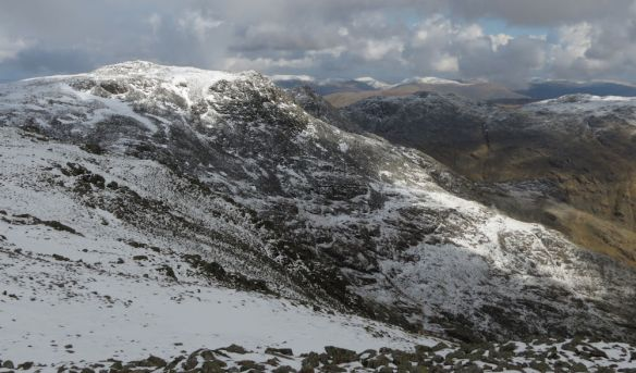 Scafell Pike from Sca Fell