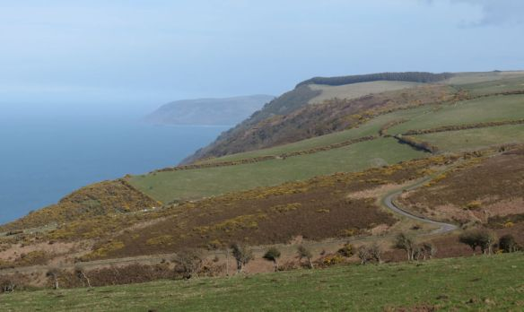 North Devon coast near Lynmouth