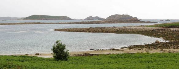 St Helen's - the home of St Elidius around the 7th century, as seen from White Island