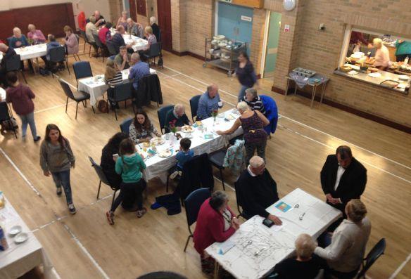 The Big Breakfast in the Ashcott Village Hall