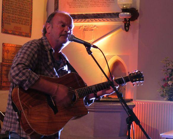 Paul Field in concert at Shapwick church