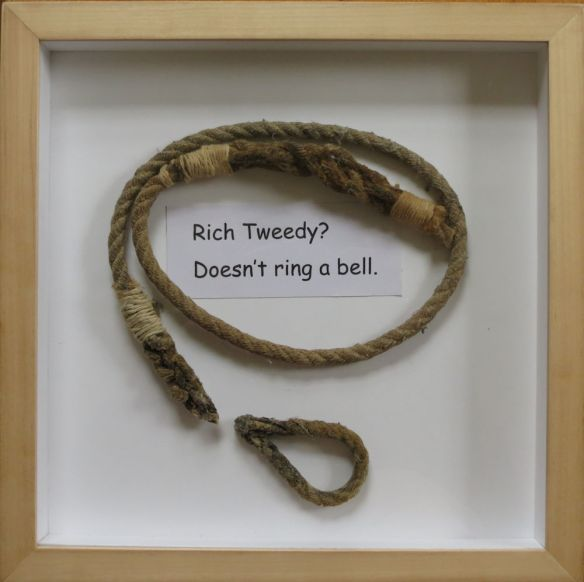 The end of the bell rope...