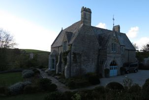 The old rectory...